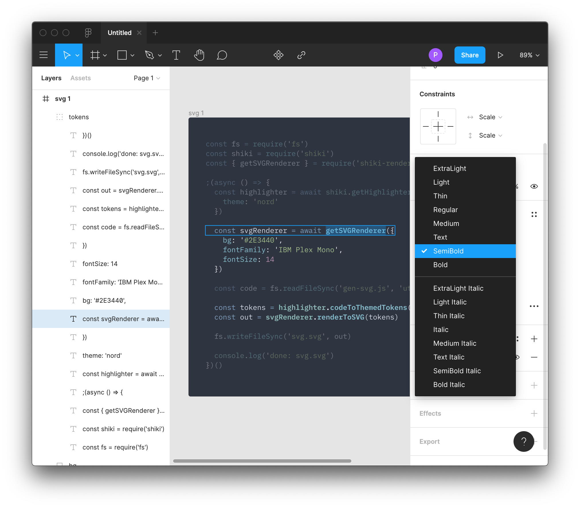 Editing In Figma